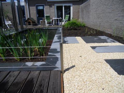 Aanleg en ontwerpen tuin en koivijver gidistuinen for Aanleg koivijver